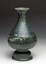 Beautiful Khmer Bronze Vase