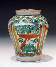 Antique Mexican Talavera Vase
