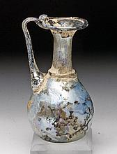 Delicate Roman Glass Pitcher