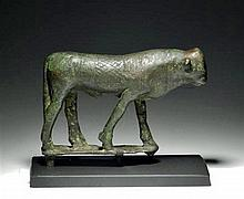 Egyptian Bronze Apis Bull