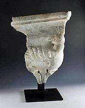 Roman Marble Section of a Façade -  Bird