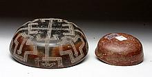 Pair of Nayarit Polychrome Bowls