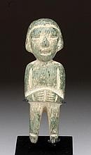 Teotihuacan Stone Idol of a Standing Male
