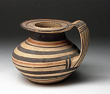South Italic Daunian Polychrome Pitcher