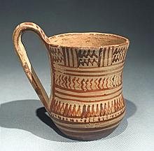 Late Geometric Greek Attic Single Handled Mug