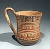Late Geometric Greek Attic Single Handled Mug