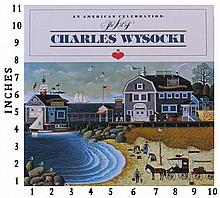 Dealer Liquidating Art Books Charles Wysocki An American Celebration 1985 Edition 2586/3500 Jacket Art Book