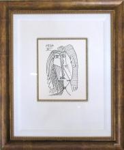 Pablo PICASSO Fine Art MUSEUM Prints c.1955 Rare Collection Fantastic Images NO RESERVE AUCTION Every Piece UNDER $30
