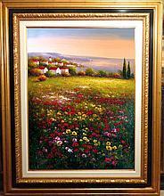 Floral Colorful Original Painting Dealer SALE Landscape Scenic Dealer Liquidation Great Value Popular Artist