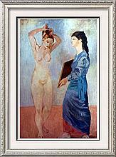 Pablo Picasso La Toilette c.1906 Fine Art Print Signed in Plate