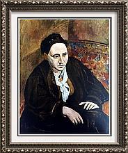 Pablo Picasso Gertrude Stein c.1906 Fine Art Print