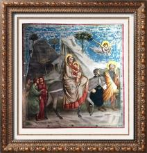 Masterpieces Giotto: The Flight into Egypt c.1305 Fine Art Print Signed in Plate