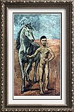 Pablo Picasso Boy Leading a Horse c.1905 Fine Art Print Signed in Plate