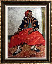 Vincent Van Gogh The Zouave c.1888 Fine Art Print