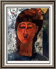 Amedeo Modigliani Fat Boy c.1915 Fine Art Print Signed in Plate