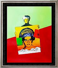WARHOL & PRINCESS DIANA POP CANVAS ART LIQUIDATION