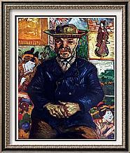 Vincent Van Gogh Pere Tanguy c.1887 Fine Art Print