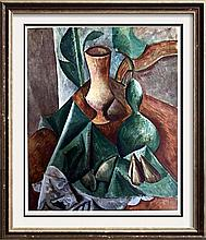 Pablo Picasso Still Life with Gourd c.1909 Fine Art Print