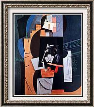 Pablo Picasso Card Player c.1913-14 Fine Art Print