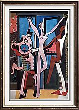 Pablo Picasso Three Dancers c.1925 Fine Art Print