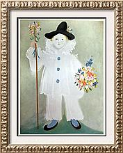 Pablo Picasso Paul as Pierrpt c.1929 Fine Art Print Signed in Plate