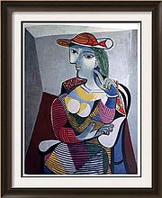 Pablo Picasso Woman in an Armchair c.1937 Fine Art Print