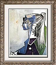 Pablo Picasso Sylvette, XIII c.1954 Fine Art Print Signed in Plate