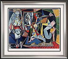 Pablo Picasso Woman of Algiers c.1955 Fine Art Print