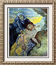 Vincent Van Gogh Pieta c.1889 Fine Art Print