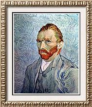 Vincent Van Gogh Portrait of the Artist c.1890 Fine Art Print