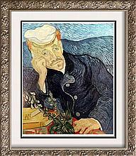 Vincent Van Gogh Portrait of Dr. Gachet c.1890 Fine Art Print
