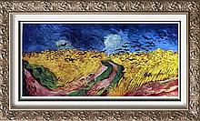 Vincent Van Gogh Crows Over the Wheat Field c.1890 Fine Art Print