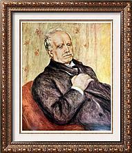 Pierre Auguste Renoir Paul Durand-Ruel c.1910 Fine Art Print Signed in Plate