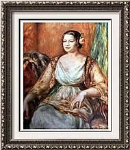 Pierre Auguste Renoir Madame Tilla Durieux c.1914 Fine Art Print Signed in Plate