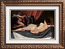 Diego Rodriguez Velazquez Venus with the Mirror c.1651 Fine Art Print