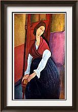 Amedeo Modigliani Jeanne Hebuterne c.1919 Fine Art Print