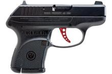 RUGER LCP 380 DOUBLE ACTION PISTOL BLACK 6RD AS