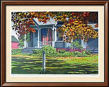 American Flag Realistic Limited Edition Colorful Art Sale