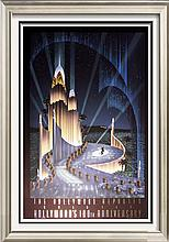 Art Deco Hoppe Hollywood Limited Edition Signed Liquidation Art