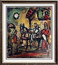 Georges Roualt The Flight Into Egypt c.1948 Fine Art Print Signed in Plate