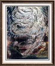 Masterpieces of British Painting by  William Blake: The Dream of Queen Katharine c.1807-27 Fine Art Print