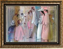 ORIGINAL Modern Signed Figurative Abstract Paintings on Canvas Great Vaues Low or No Reserves! Below DEALER Cost BID NOW