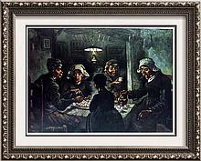 Vincent Van Gogh The Potato-Eaters c.1885 Fine Art Print