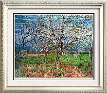 Vincent Van Gogh The Orchard c.1888 Fine Art Print