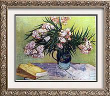 Vincent Van Gogh Oleanders c.1888 Fine Art Print