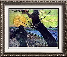 Vincent Van Gogh The Sower c.1888 Fine Art Print