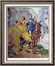 Vincent Van Gogh The Good Samaritan (After Delacroix) c.1890 Fine Art Print