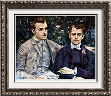 Pierre Auguste Renoir Charles and George Durand-Ruel c.1882 Fine Art Print Signed in Plate
