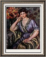 Pierre Auguste Renoir Madame Joseph Durand-Ruel c.1911 Fine Art Print Signed in Plate