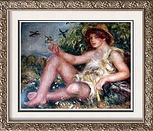 Pierre Auguste Renoir Shepherd Boy c.1911 Fine Art Print Signed in Plate